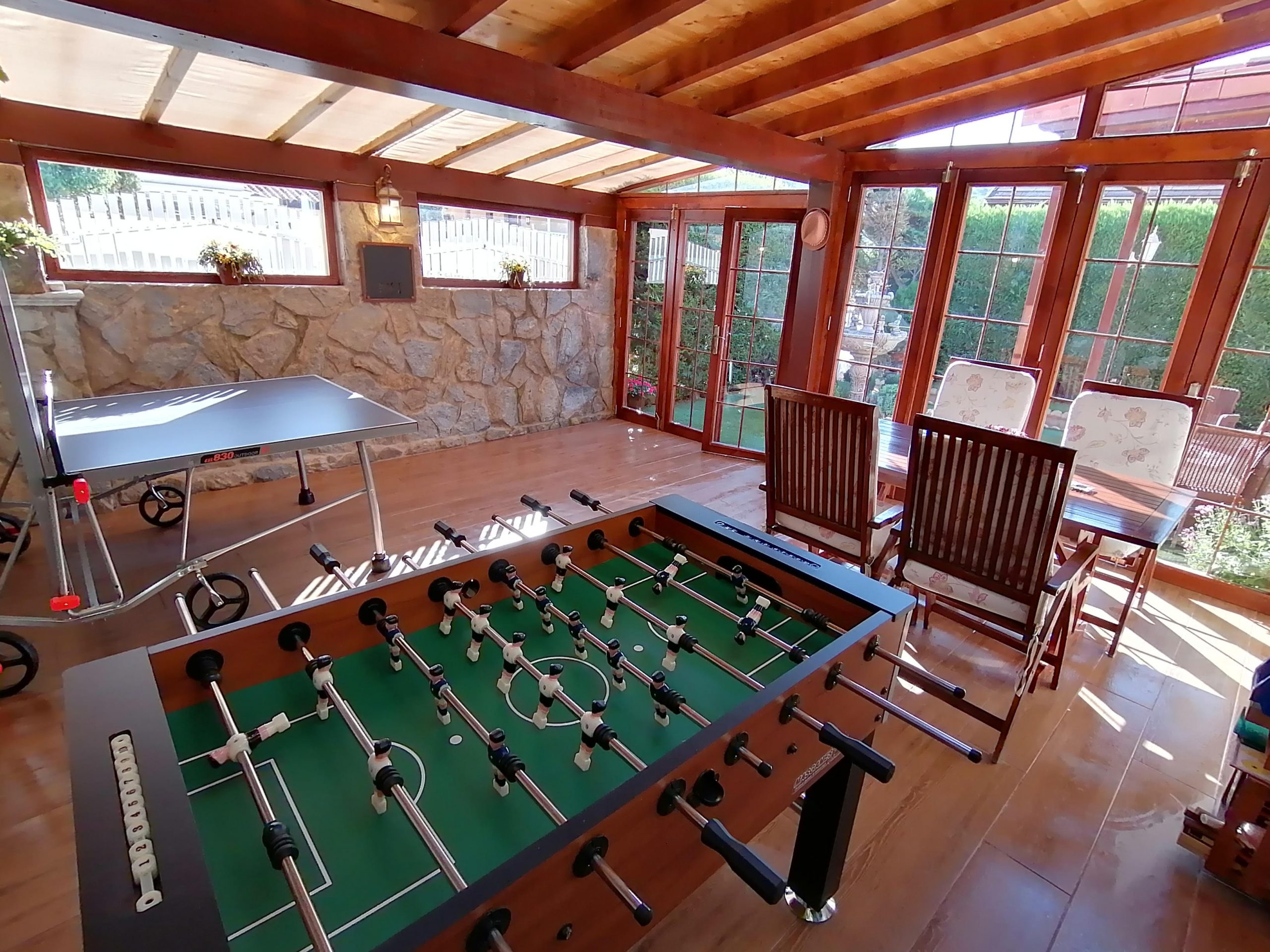 El area de juegos - Casa Saleros - Navarrete, La Rioja