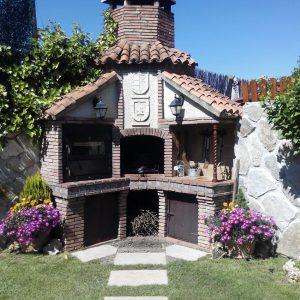 El barbacoa con horno - Casa Saleros - Navarrete, La Rioja