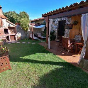 El jardin - Casa Saleros - Navarrete - La Rioja